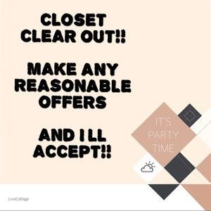 CLOSET CLEAROUT!!! MAKE OFFERS ON AUTHENTIC BAGS!!